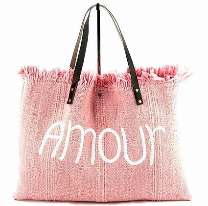 Amour Canvas Tote Bag