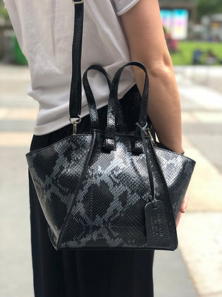 Mini Cicy Printed Python Small Satchel