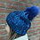 Thumbnail: Beanie JJ46 Metallic Electric Blue - Jijou Capri