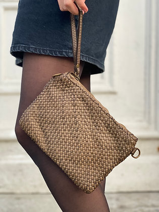Ziplet Vintage Leather Wallet