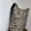 Thumbnail: Zebra Tokyo Half Pony leather handbag