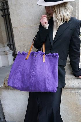 Purple Manlya Tote Bag - Jijou Capri