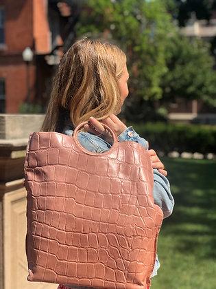 Vancouver Medium Croco Handbag