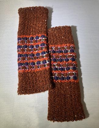 Woven Fingerless Gloves : 200581 Col 4 - Jijou Capri