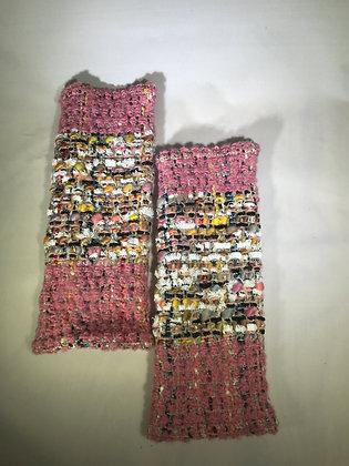 Woven Fingerless Gloves : 190575 Col 5 - Jijou Capri