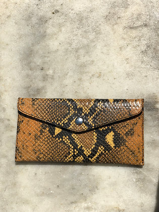 Wallet Bobo Snake Brown 6 - Jijou Capri