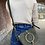 Thumbnail: Basilea Olive Pony leather Crossbody Bag - Jijou Capri