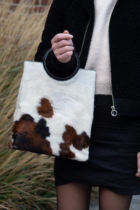 Twiggy Pony Leather Handbag