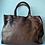 Thumbnail: Camel Sophia Studs Vintage Leather Handbag - Jijou Capri