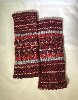 Woven Fingerless Gloves : 200583 Col 4 - Jijou Capri