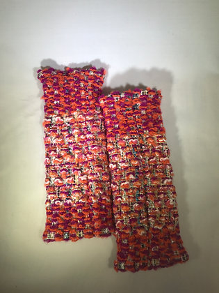 Woven Fingerless Gloves : 190573 Col 1- Jijou Capri