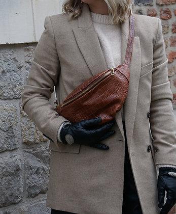 Fanny Pack Marsupio Croco Leather