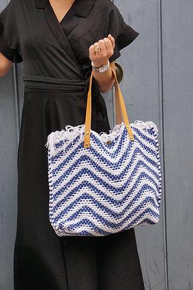 Wavy canvas Tote Bag