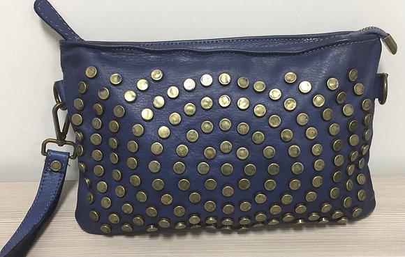 Pochette Studs Vintage Leather