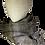 Thumbnail: JJ75 Scarf Taupe & Grey - Jijou Capri