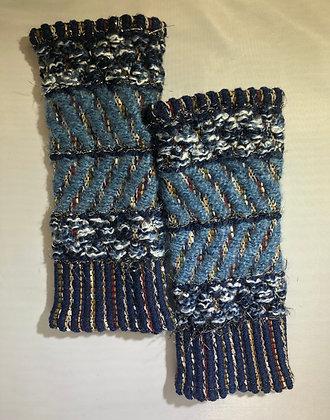 Woven Fingerless Gloves : 200585 Col 4 - Jijou Capri