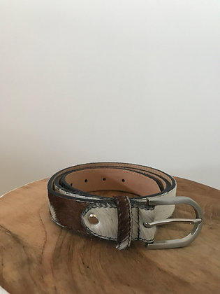 Belt Pony Caw Leather - Jijou Capri