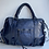 Thumbnail: Blue Hana Vintage Leather Handbag - Jijou Capri