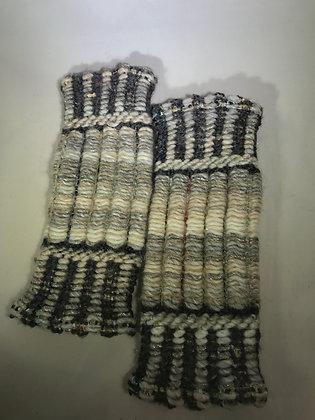 Woven Fingerless Gloves : 190563 Col 8 - Jijou Capri