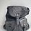 Thumbnail: Grey Zaino Intrecciate vintage Leather Backpack - Jijou Capri