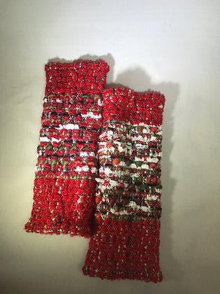 Woven Fingerless Gloves : 190575 Col 1 - Jijou Capri