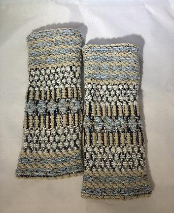 Woven Fingerless Gloves : 200582 Col 1 - Jijou Capri
