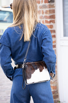 Elvira Pony Leather Crossbody bag