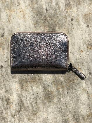 Wallet Mini Kate Gun Metallic - Jijou Capri