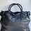 Thumbnail: Classic Black Sophia Vintage Leather Handbag - Jijou Capri
