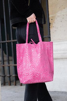 Fuchsia Cosmic Tote Bag