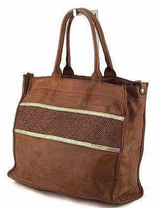 Villa Vintage Leather Tote Bag