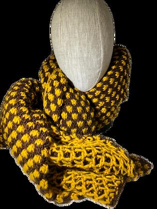 JJ83 Reversible Scarf Yellow - Jijou Capri