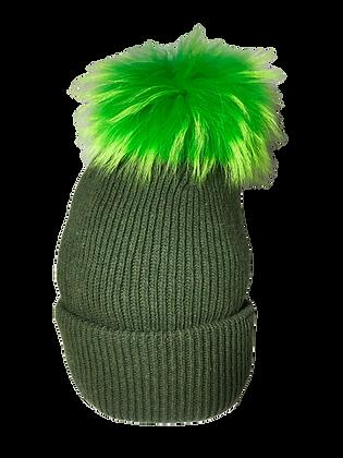 Beanie JJ100 Green - Jijou Capri