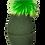 Thumbnail: Beanie JJ100 Green - Jijou Capri