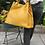 Thumbnail: Quatro Materiali Mustard Leather Handbag - Jijou Capri