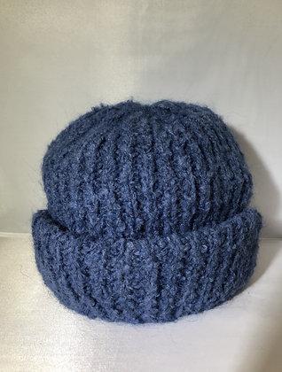 Cuffed Beanie JJ73 Blue - Jijou Capri