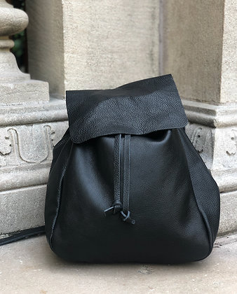 Leather Backpack - Jijou Capri