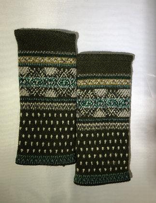 Woven Fingerless Gloves : 200001 Col 4 - Jijou Capri