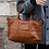 Thumbnail: Evangeline Vintage leather handbag