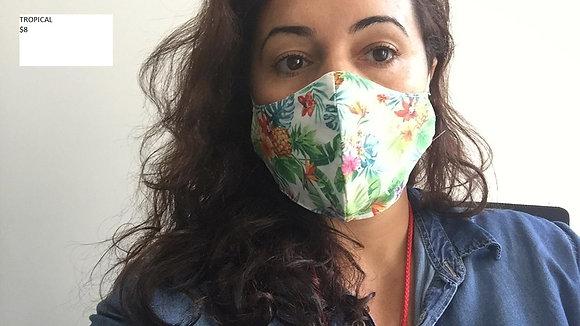 Face Mask 100% Cotton