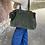 Thumbnail: Olive Folya Suede Leather Handbag - Jijou Capri