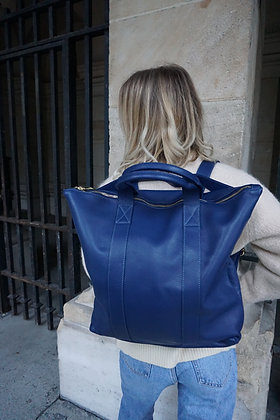 Philip Grained Leather Backpack
