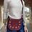 Thumbnail: Basilea Wine suede leather Crossbody Bag - Jijou Capri