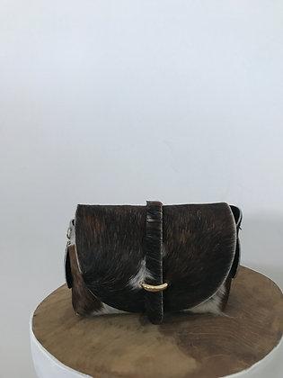 Lily Pony Cow Leather Crossbody bag - Jijou Capri