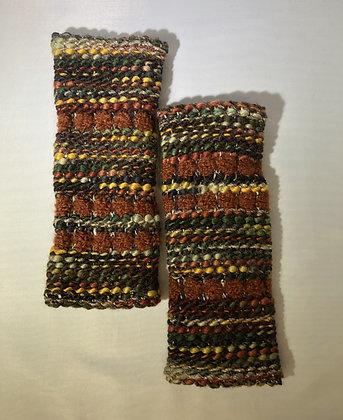 Woven Fingerless Gloves : 200584 Col 4 - Jijou Capri