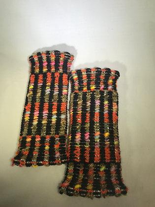 Woven Fingerless Gloves : 190565 Col 6 - Jijou Capri