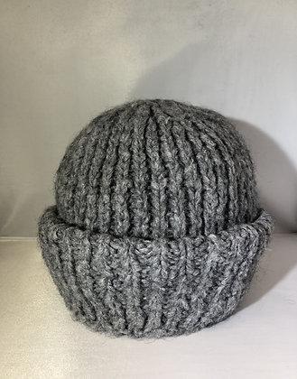 Cuffed Beanie JJ73 Grey - Jijou Capri