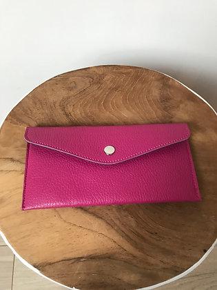 Wallet Bobo Solid Fuchsia - Jijou Capri