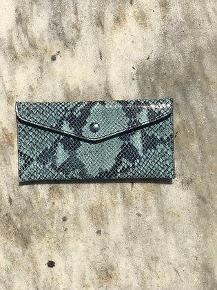 Wallet Bobo Snake Aqua - Jijou Capri