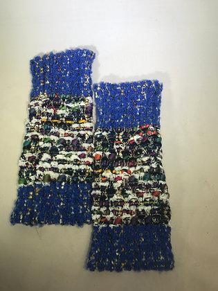 Woven Fingerless Gloves : 190575 Col 2 - Jijou Capri